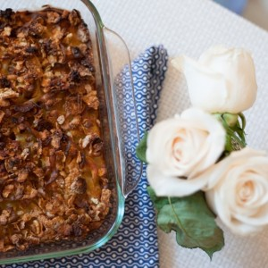 Recipe for Low Fat Noodle Kugel - Fashionable Hostess