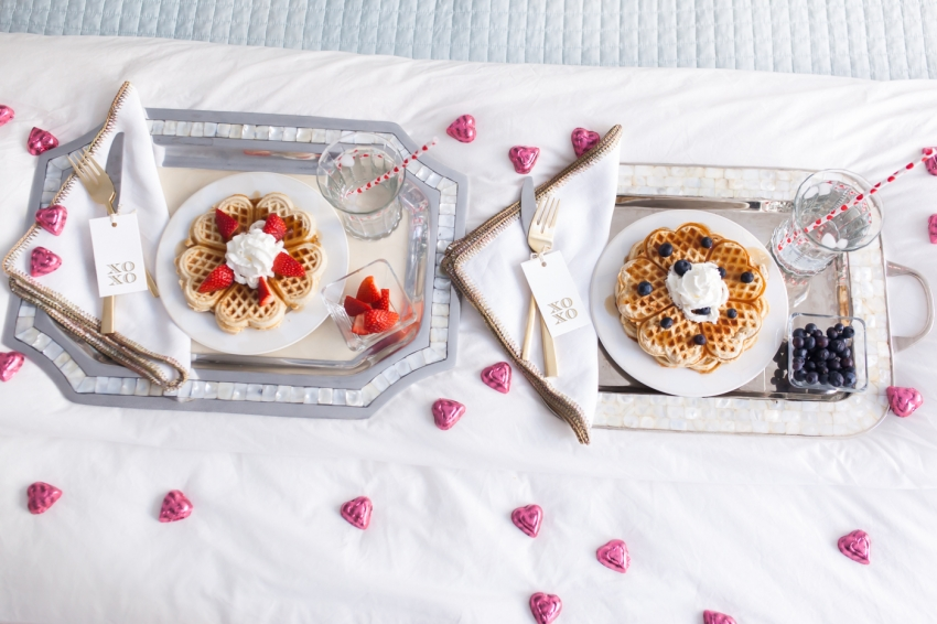 valentine s day breakfast in bed fashionable hostess