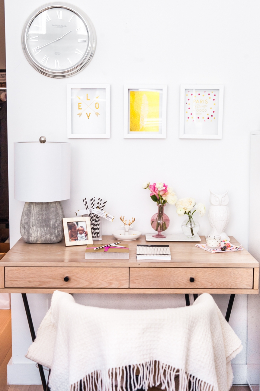How to style your desk for the girly girl