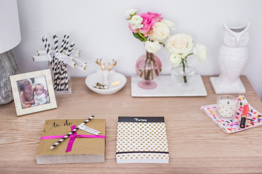 How to style your girly desk