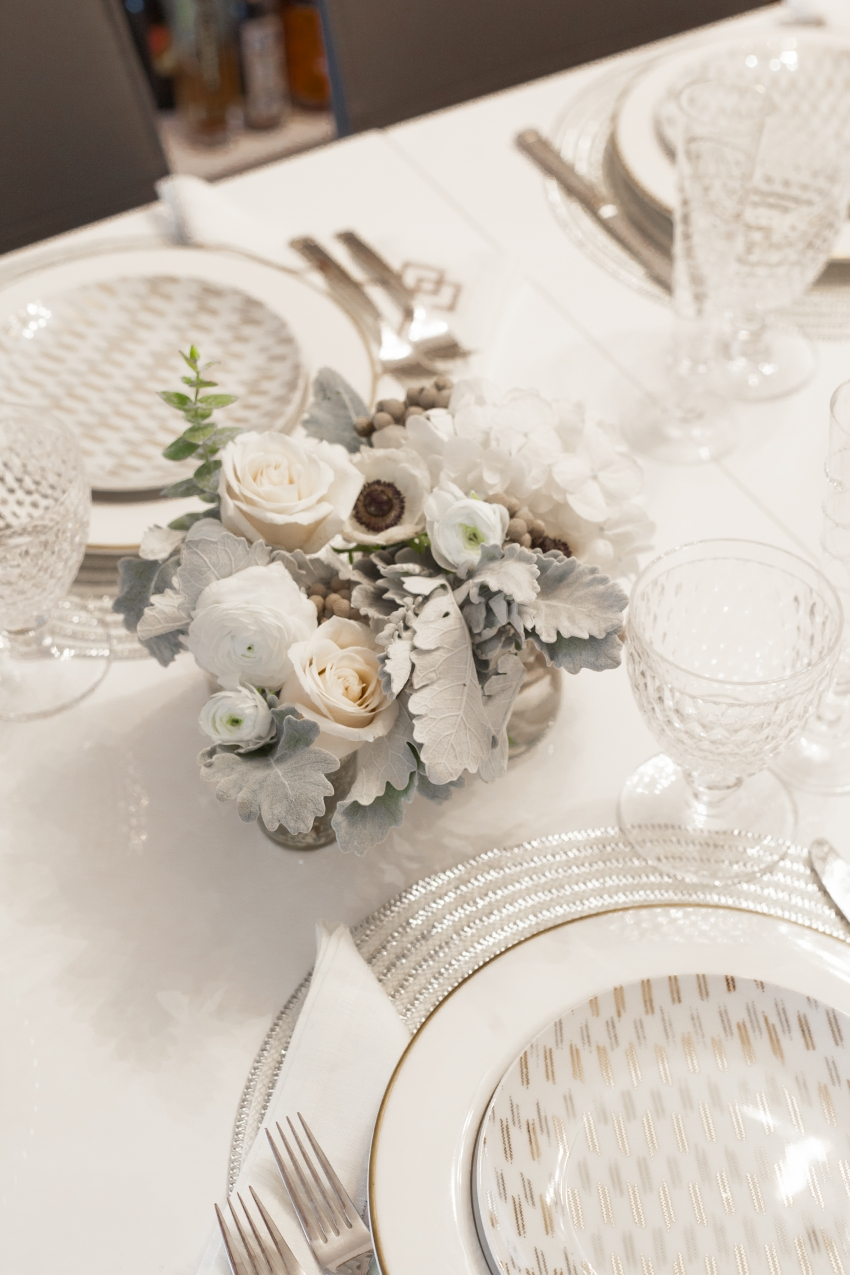 Winter White Table by Fashionable Hostess