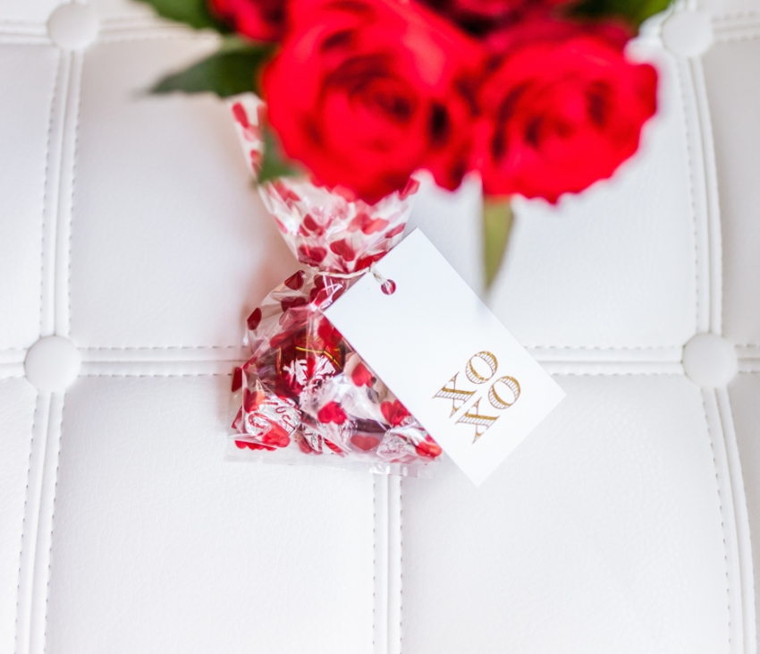valentines candy bags by Fashionable Hostess