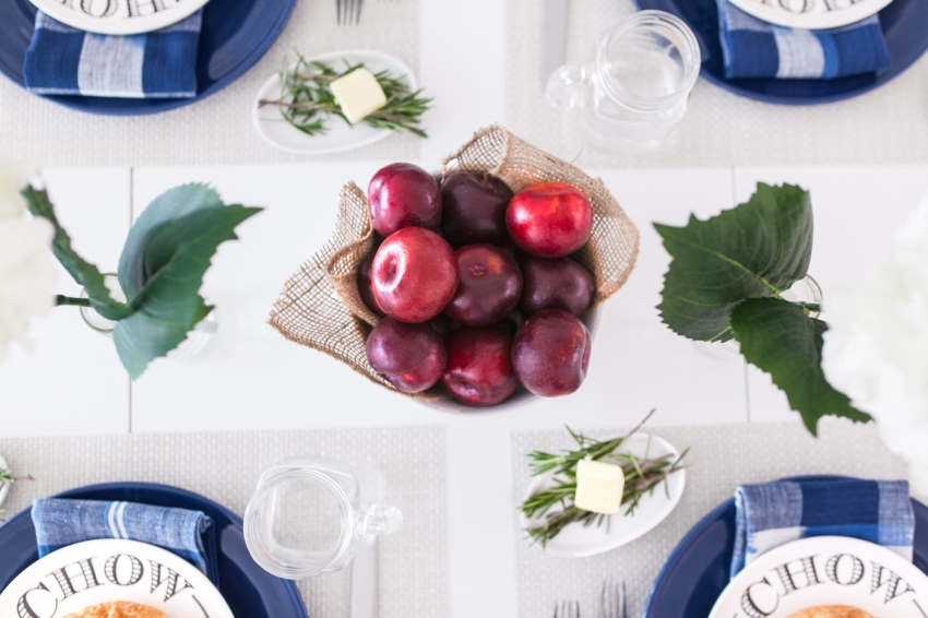 Apple Centerpieces for your table by Fashionable Hostess