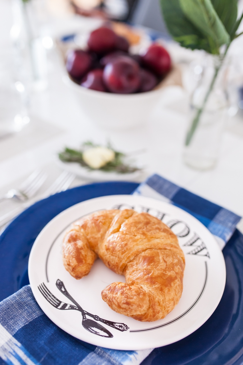 Country Breakfast with Pottery barn by Fashionble Hostess