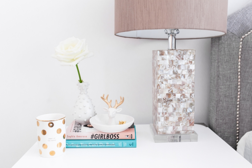 Fashionable Hostess Bedside Table