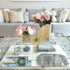 Fashionable Hostess Coffee Table Displays on Instagram