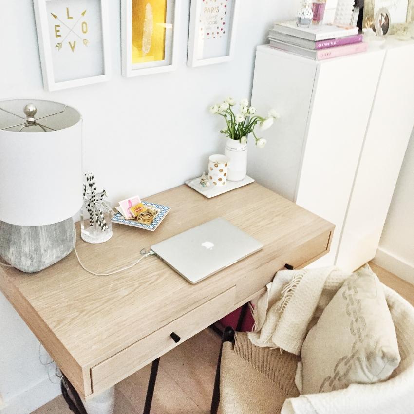 Fashionable Hostess Desk Display on Instagram