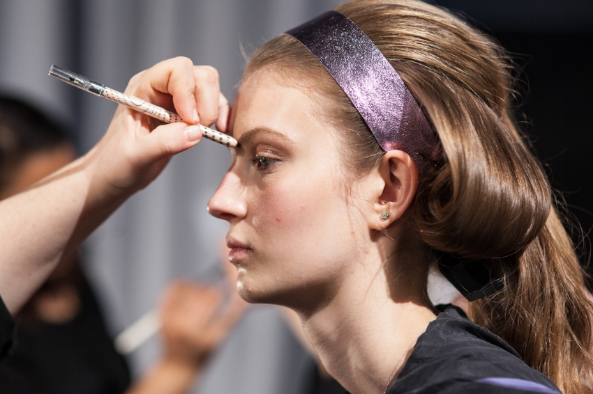 Honor Show NYFW15 - Backstage Beauty Recap from NYFW15 on FashionableHostess.com