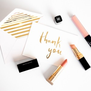 Best online custom stationery sites by Fashionable Hostess