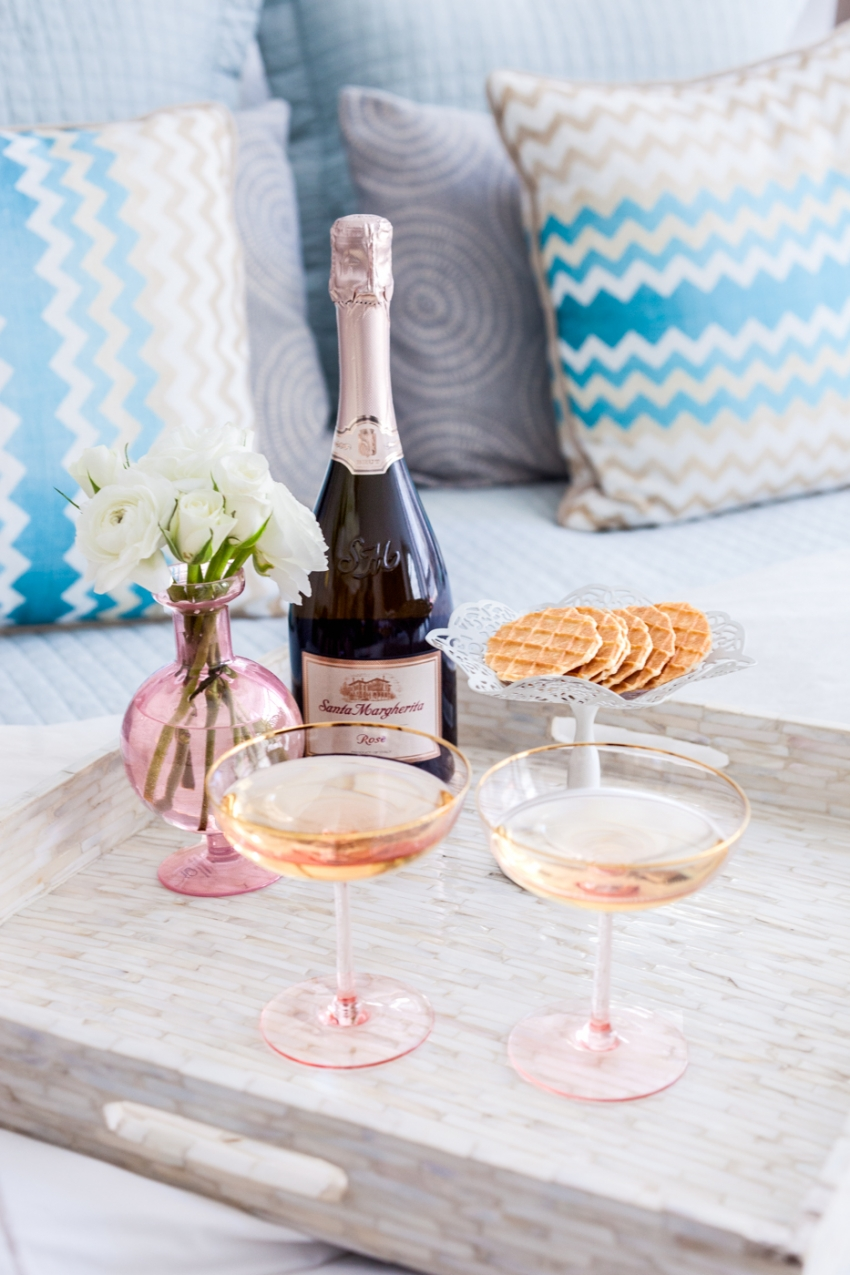 Santa Margherita Rose Prosecco for Easter