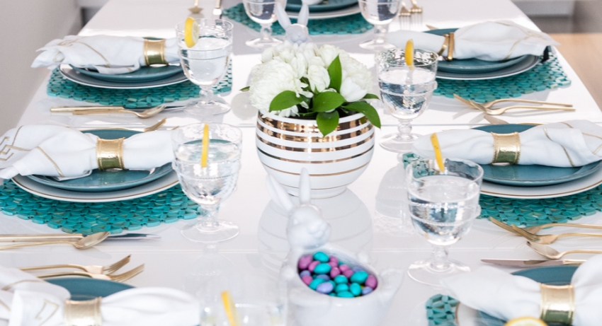 Ideas for Easter tablescapes