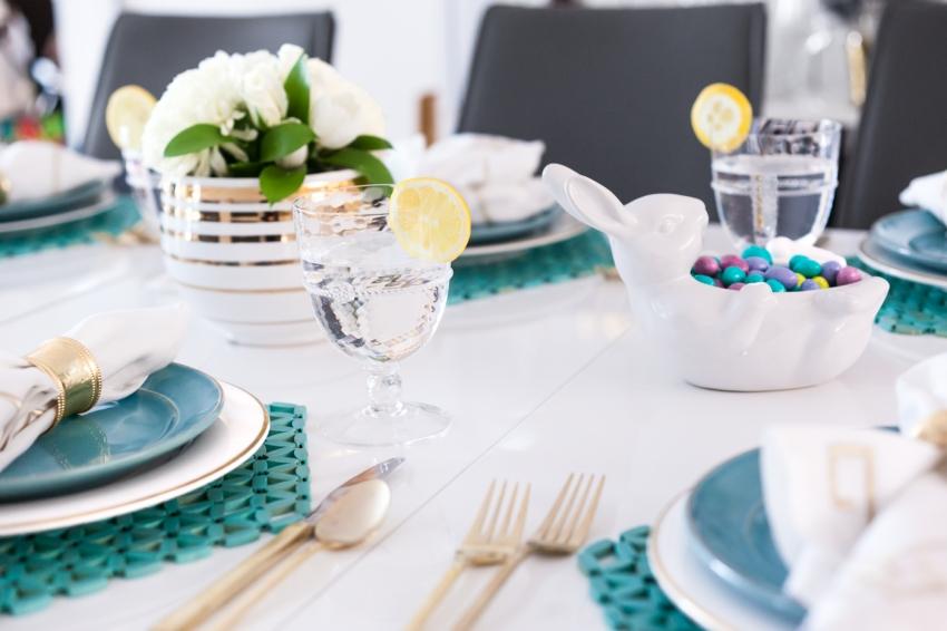 Juliska Glassware for Easter Lunch