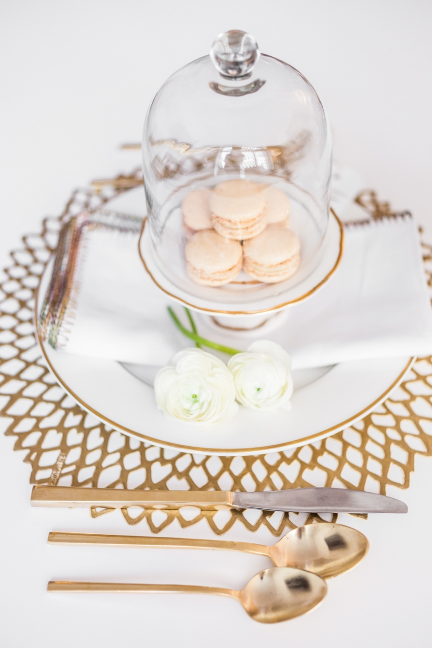 Macaron Dinner party Idea by Fashionable Hostess