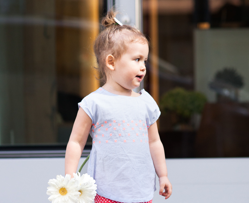 Reese Gluck in Old Navy for Spring Collection 2014