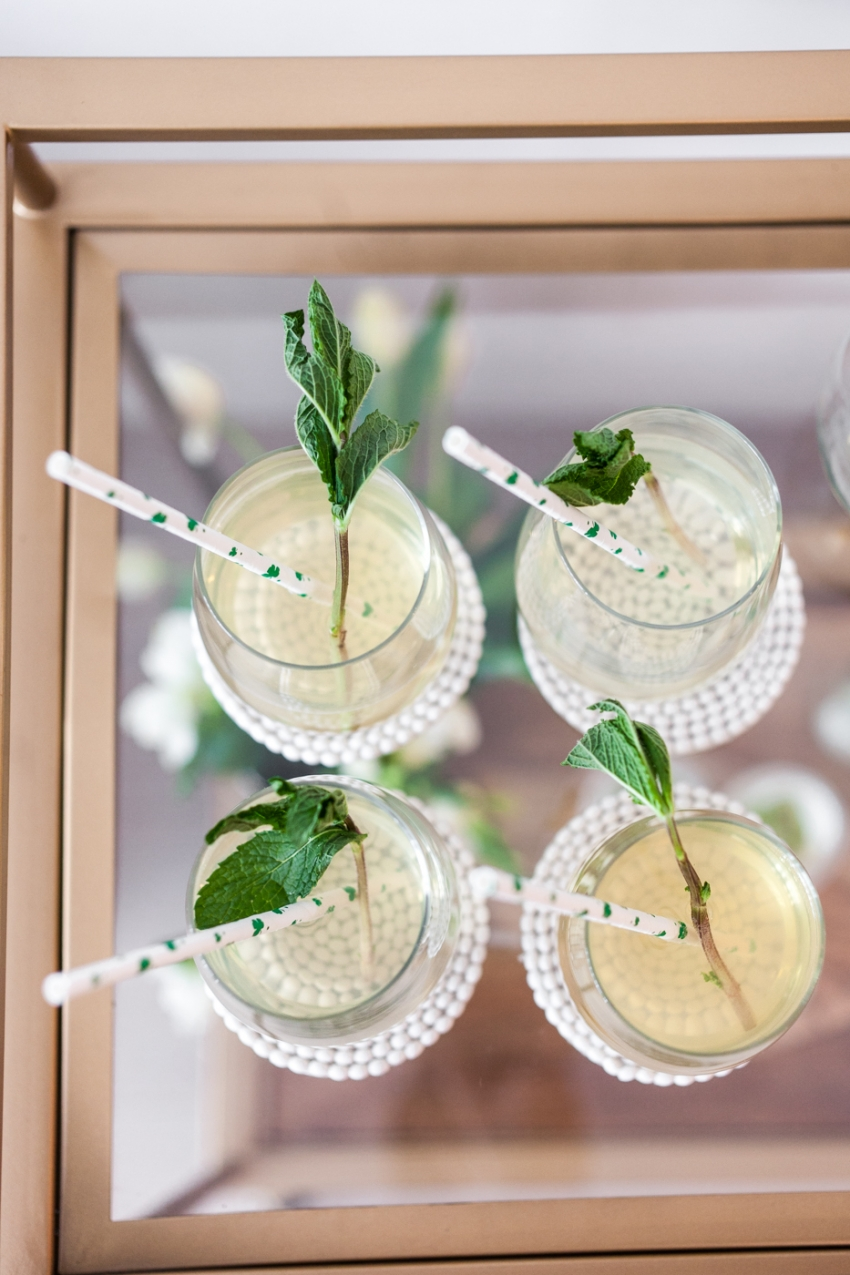 St Patricks cocktails by Fashionable Hostess