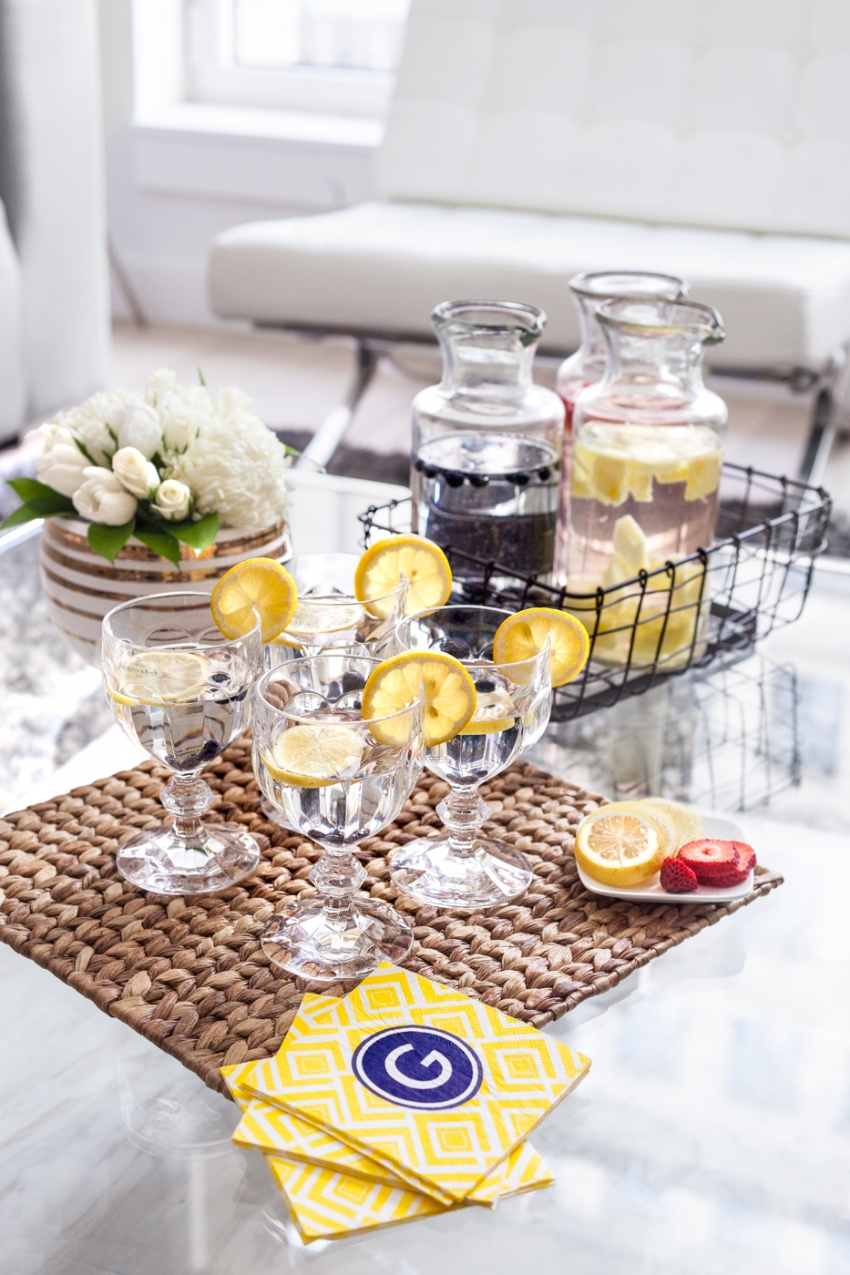 Pottery Barn Drink Dispensers for Summer Drinks