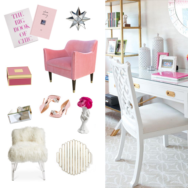 How to create your dream office fashionable hostess for How to make your room look girly
