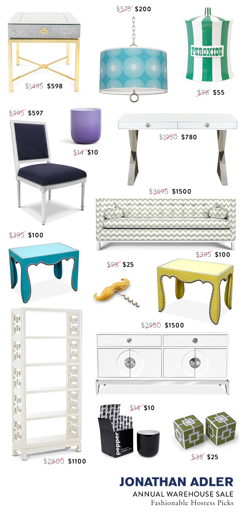 jonathanadler annual warehouse sale picks by FashionableHostess