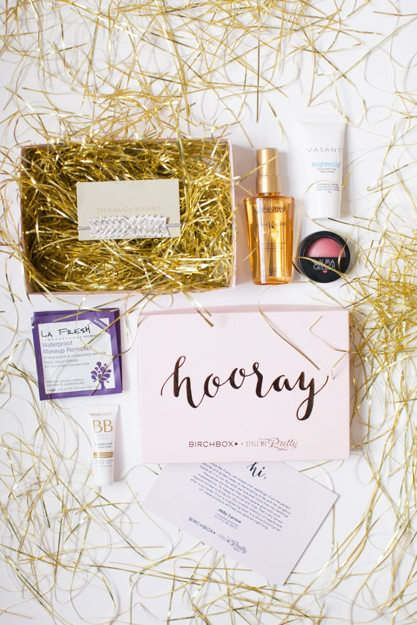 Birchbox and StyleMePretty Collaboration for Brides