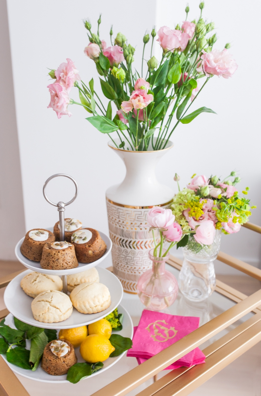 Dessert Display for your tea party