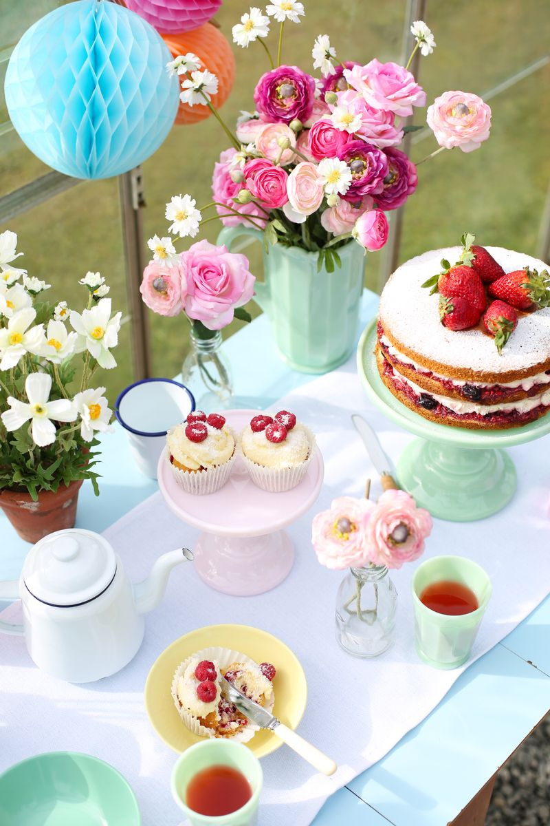 Prettiest Birthday Dessert Ideas - Assorted Dessert Bar