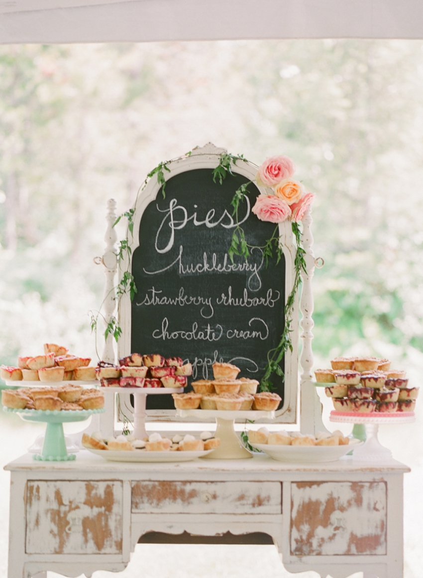 Prettiest Birthday Dessert Ideas - Pie Bar