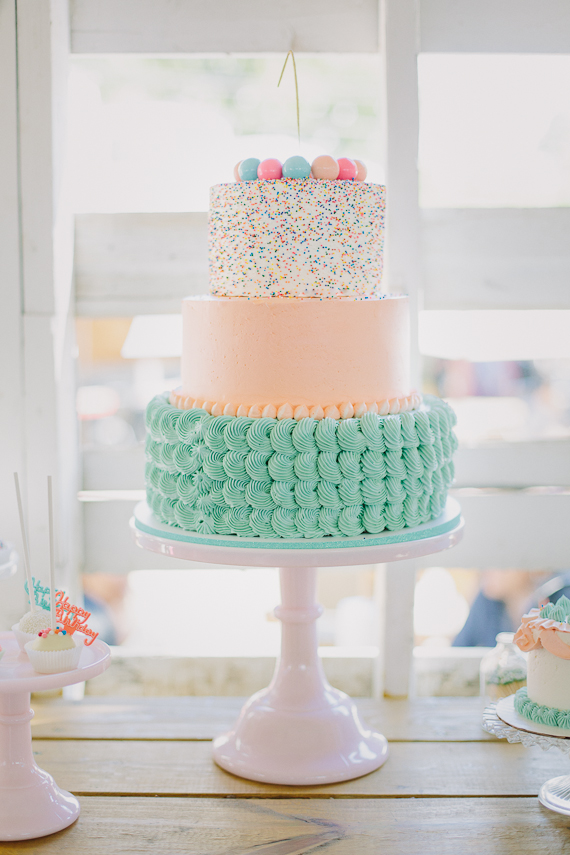 first birthday dessert ideas