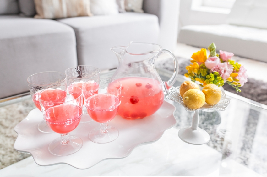 Summer Time Pink Lemonade Recipe