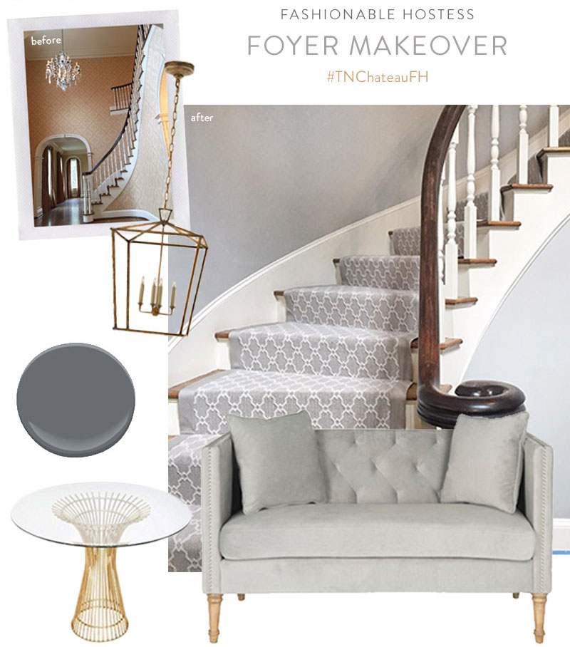 Foyer Makeover Project2