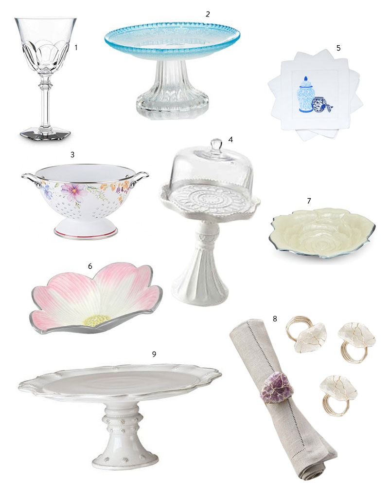 Prettiest Party Pieces Collage by FashionableHostess.com