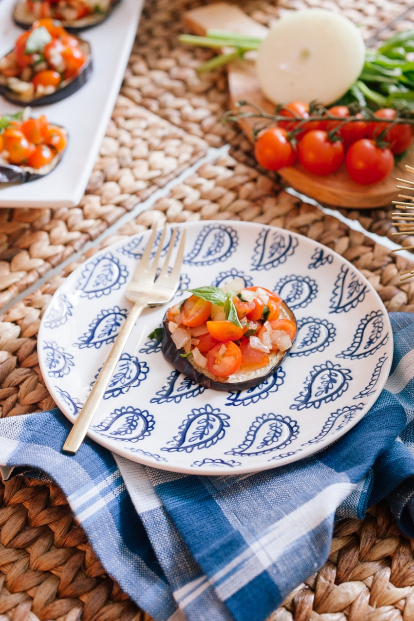 Appetizers with Tomatoes