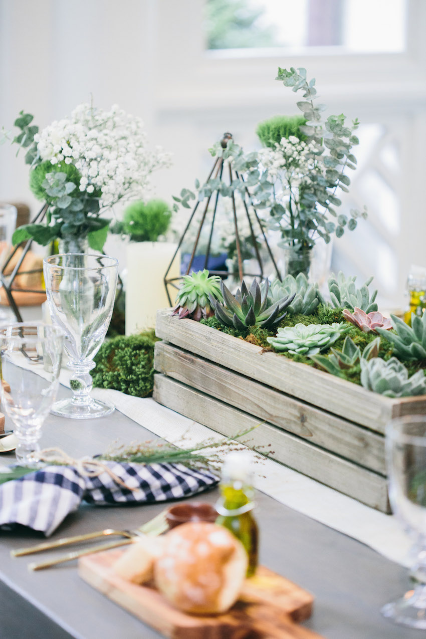 Host an Outdoor Dinner Party by Fashionable Hostess