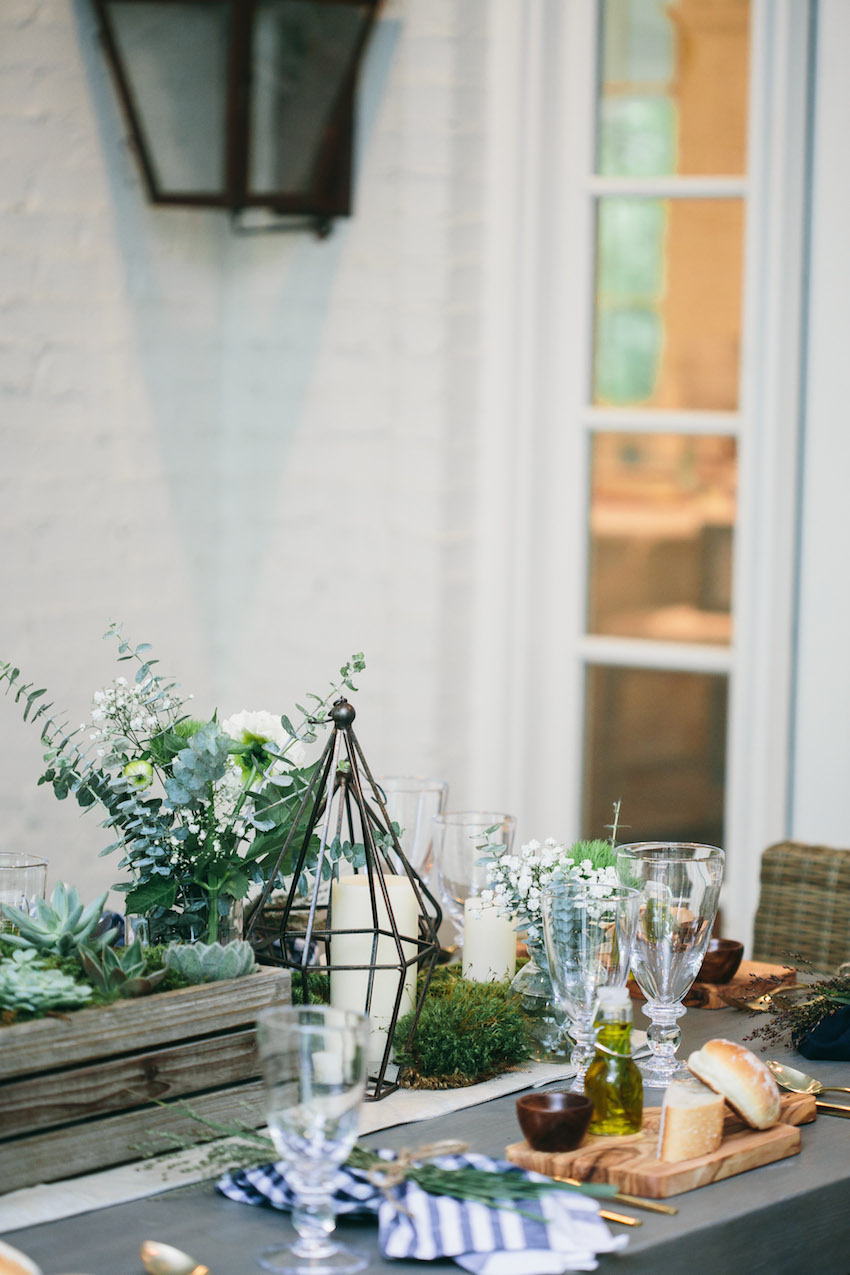 Host an Outdoor Dinner Party on your patio