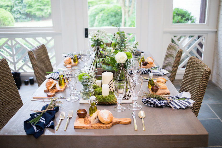 Ideas for Hosting Summer time outdoor dinner party