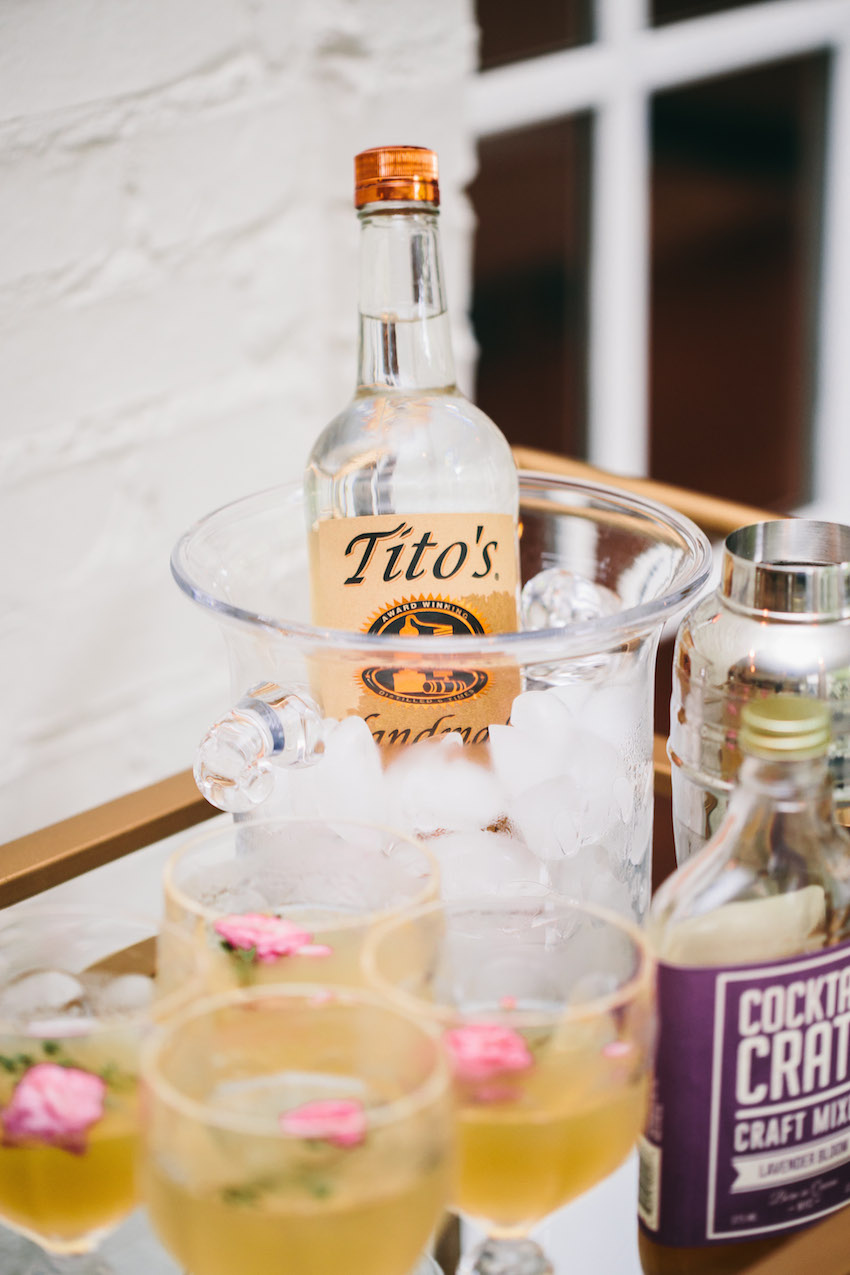 Titos Vodka Recipe for Summer Party by Fashionable Hostess