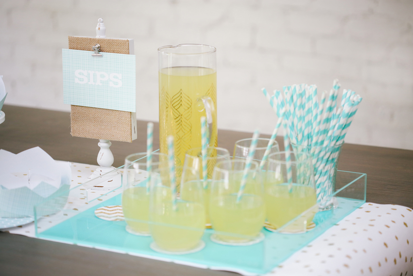 Minted birthday party supplies