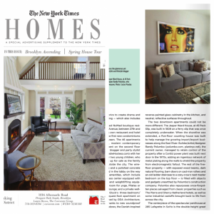 Featured in The New York Times June 2015