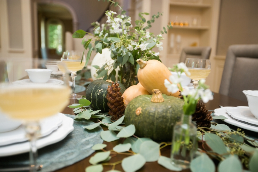 DIY Fall Tablescape and Inspiration by FashionableHostess