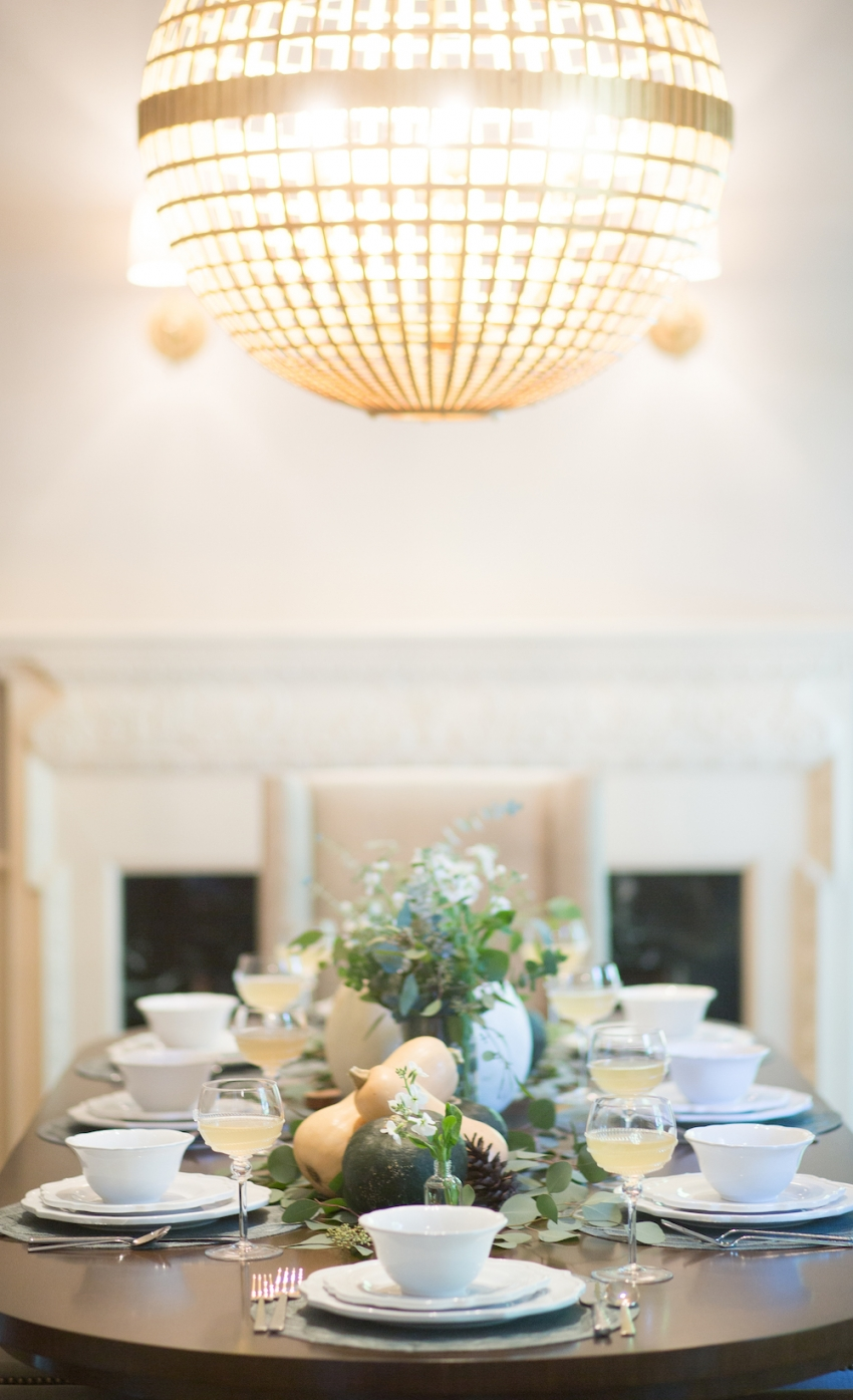 Fall Tablescape Inspiration by FashionableHostess