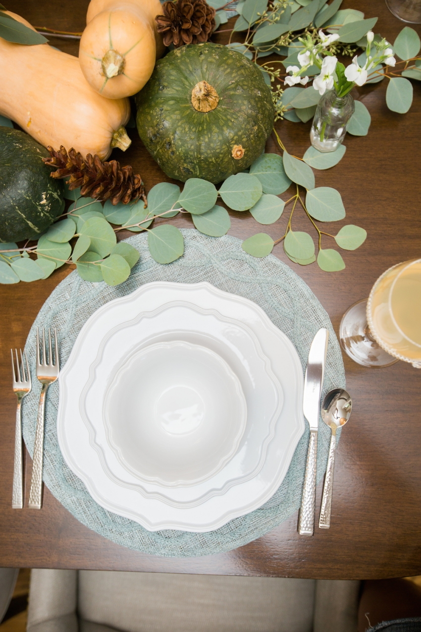 Fall Tablesetting Inspiration by FashionableHostess