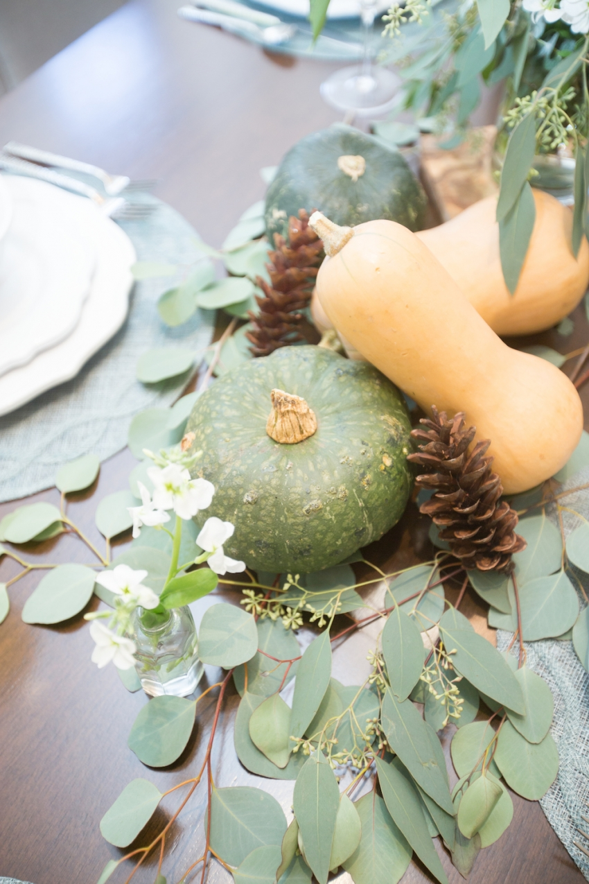 Fall Pumpkin Centerpieces by FashionableHostess 2