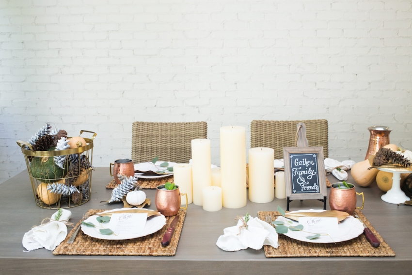 Hows a Fall Dinner party _ Ideas for your tabletop by Fashionable Hostess