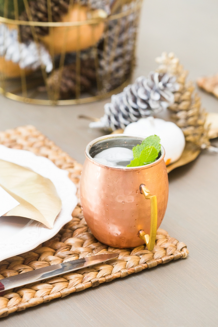 Moscow Mules with Mint by Fashionable Hostess
