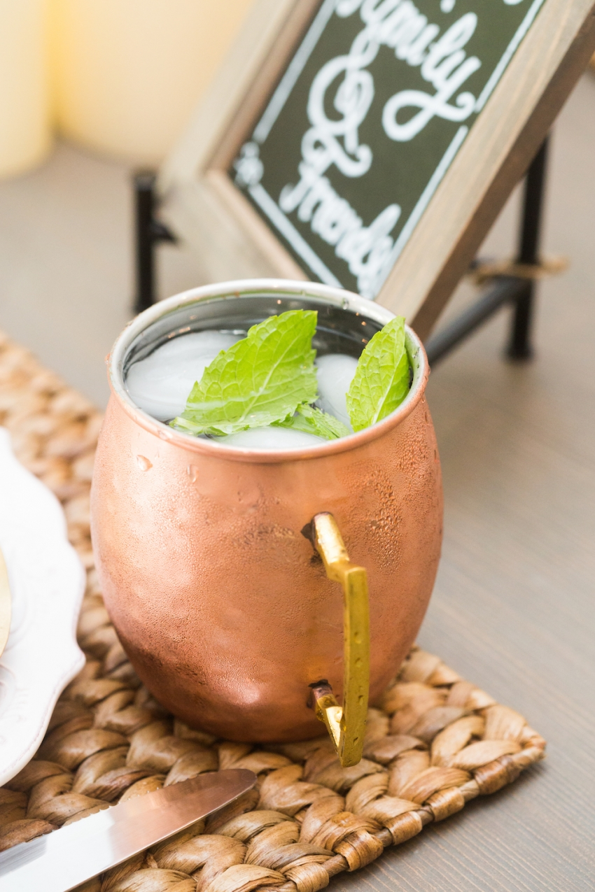 Moscow Mule Recipe for Fall by Fashionable Hostess
