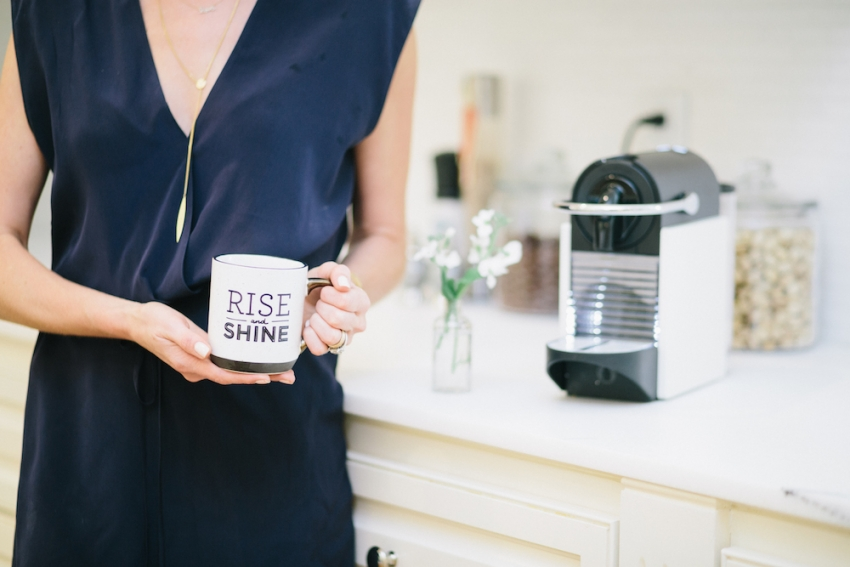 Rise and Shine with Nespresso on Fashionable Hostess
