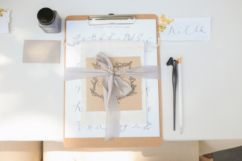 Calligraphy Party with Fashionable Hostess and Parris Chic Nashville 8
