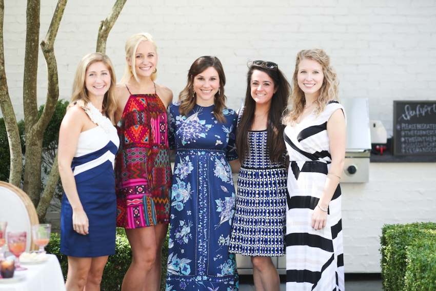 Calligraphy Party with Fashionable Hostess and Parris Chic Nashville 14