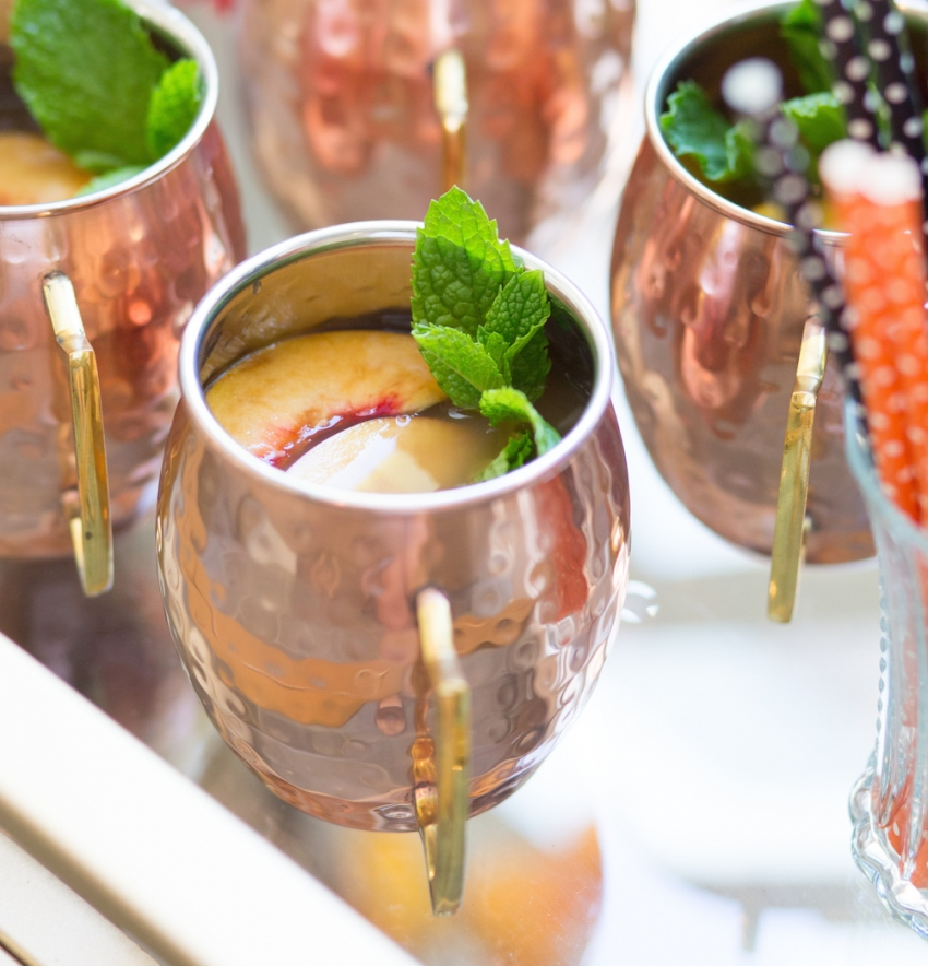 Moscow Mule Mugs for Halloween by Fashionable Hostess 1