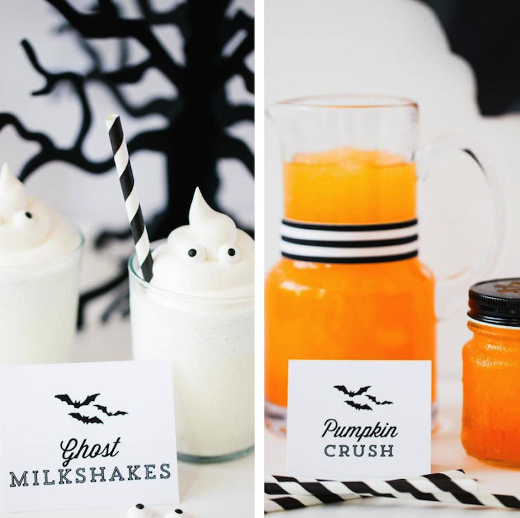 Cutest Halloween drinks + decorations online by Fashionable Hostesscom