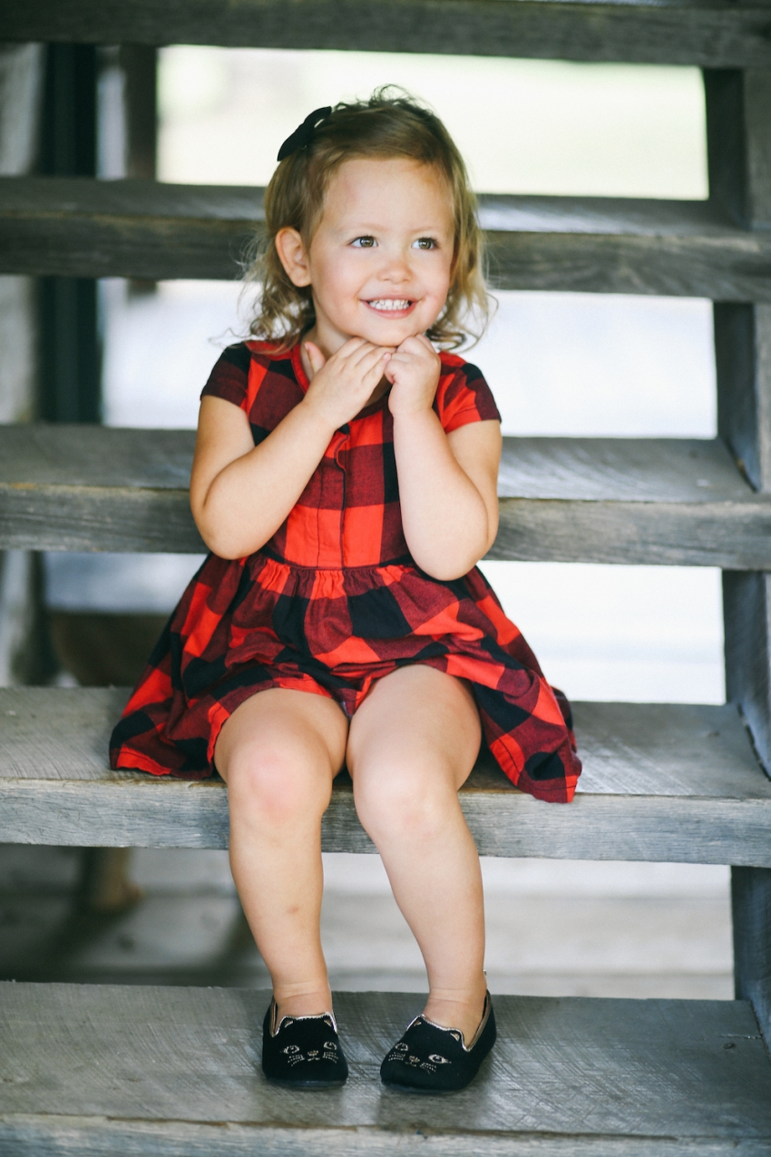 Little red plaid dress by Old Navy on Fashionable Hostess